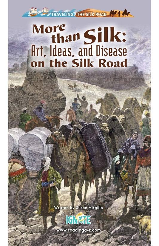 Book Preview For More Than Silk: Ideas, Art, and Disease on the Silk Road Page 0