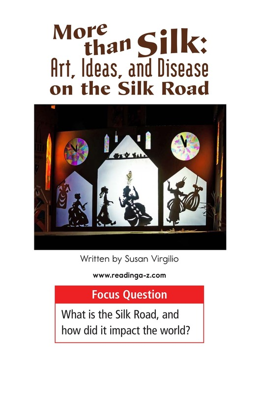 Book Preview For More Than Silk: Ideas, Art, and Disease on the Silk Road Page 1