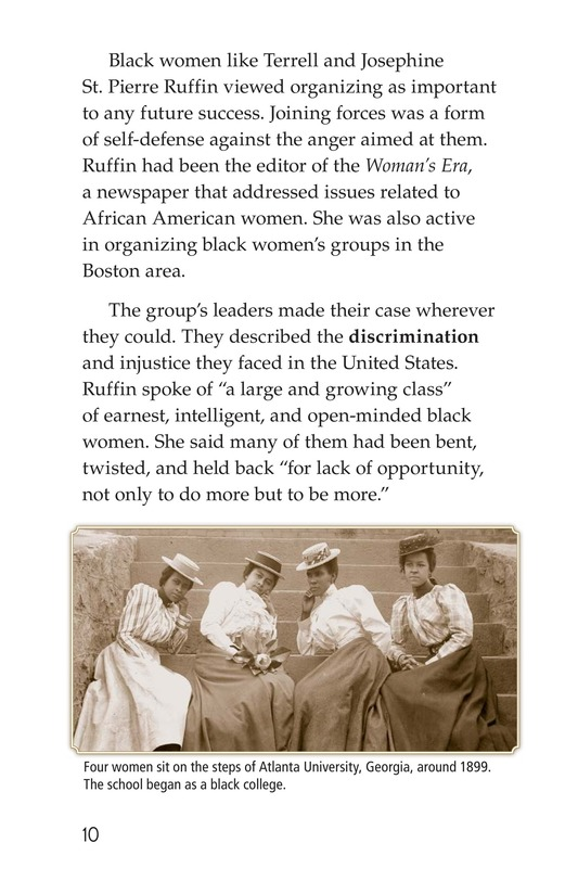 Book Preview For Black Women and the Vote Page 10