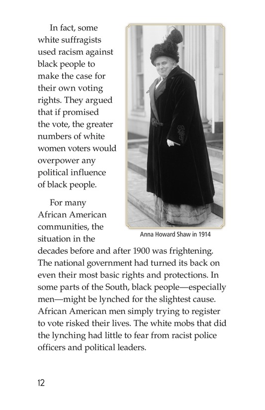 Book Preview For Black Women and the Vote Page 12