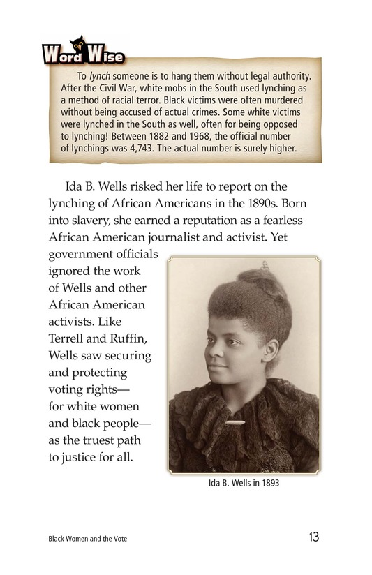 Book Preview For Black Women and the Vote Page 13