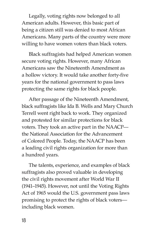 Book Preview For Black Women and the Vote Page 18