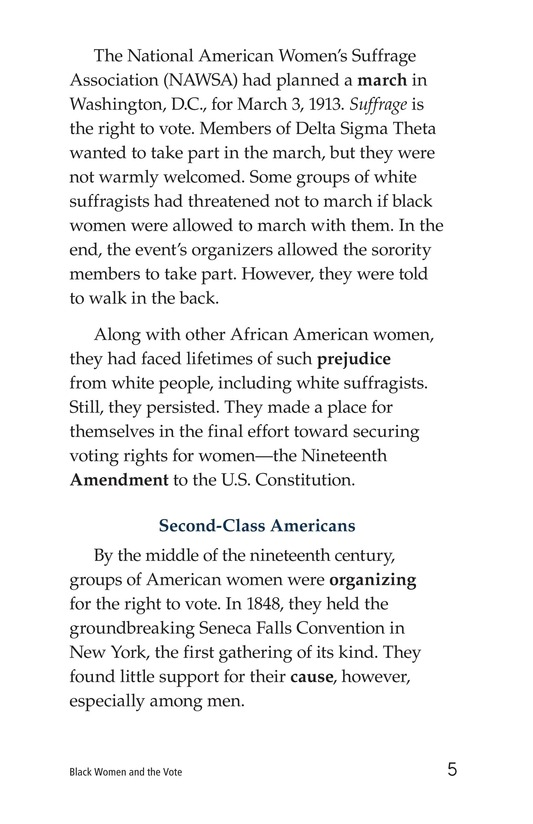Book Preview For Black Women and the Vote Page 5