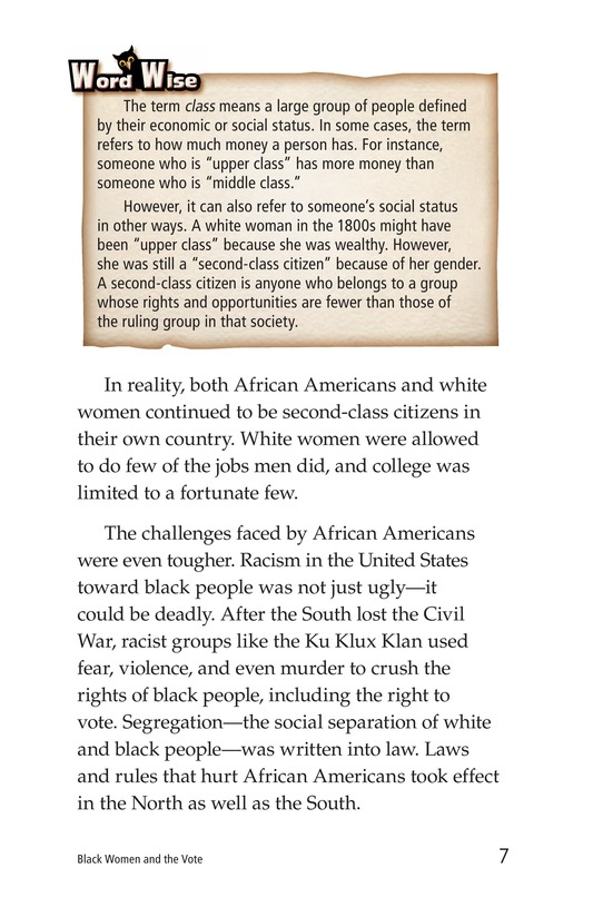 Book Preview For Black Women and the Vote Page 7