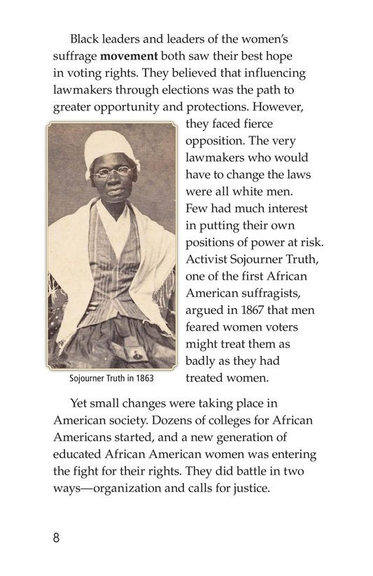 Book Preview For Black Women and the Vote Page 8