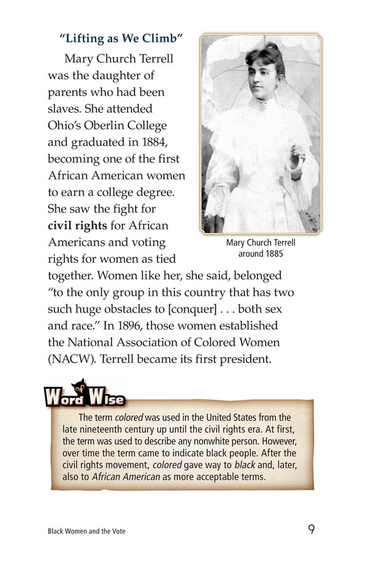 Book Preview For Black Women and the Vote Page 9