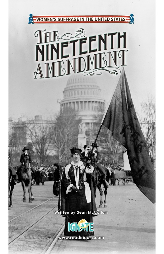Book Preview For The Nineteenth Amendment Page 0