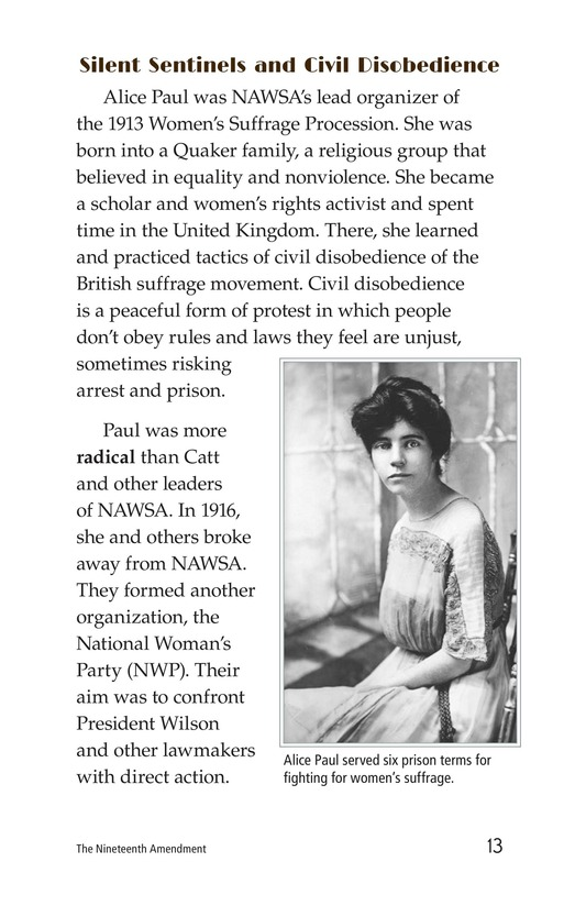 Book Preview For The Nineteenth Amendment Page 13