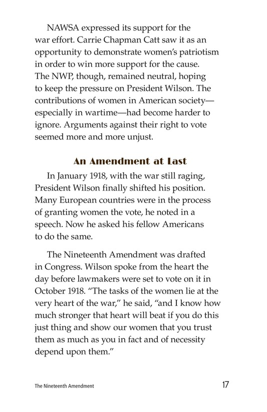 Book Preview For The Nineteenth Amendment Page 17