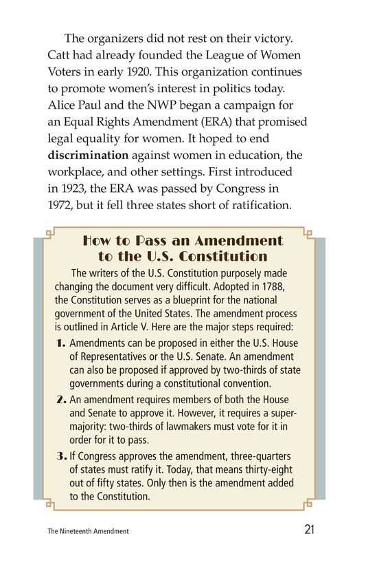 Book Preview For The Nineteenth Amendment Page 21