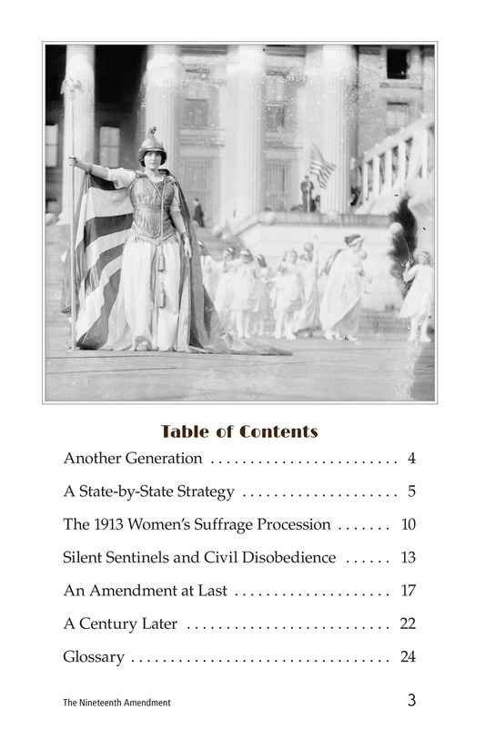 Book Preview For The Nineteenth Amendment Page 3