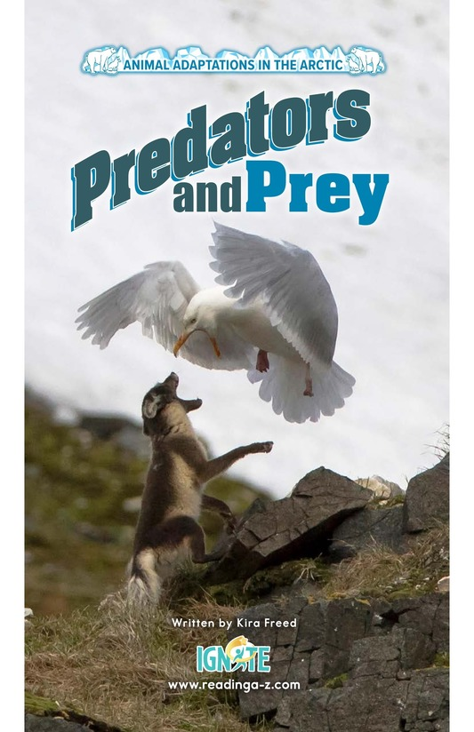 Book Preview For Predators and Prey Page 0