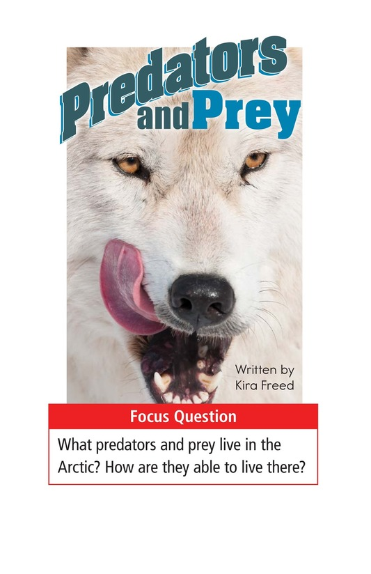 Book Preview For Predators and Prey Page 1