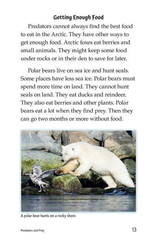 Book Preview For Predators and Prey Page 13