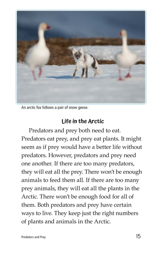 Book Preview For Predators and Prey Page 15