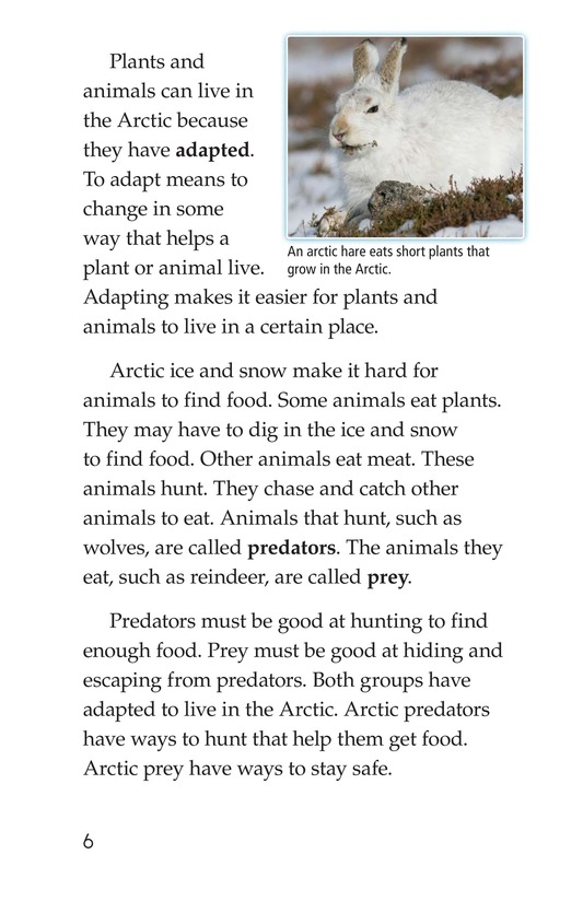 Book Preview For Predators and Prey Page 6