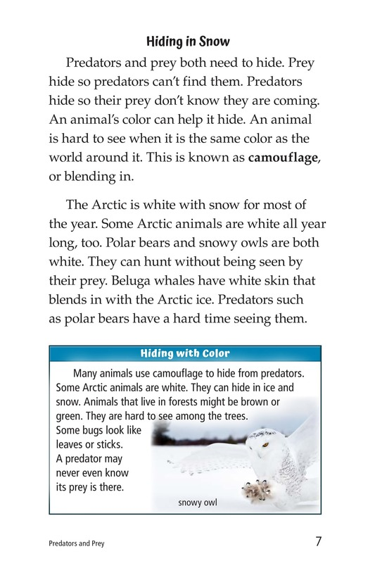 Book Preview For Predators and Prey Page 7