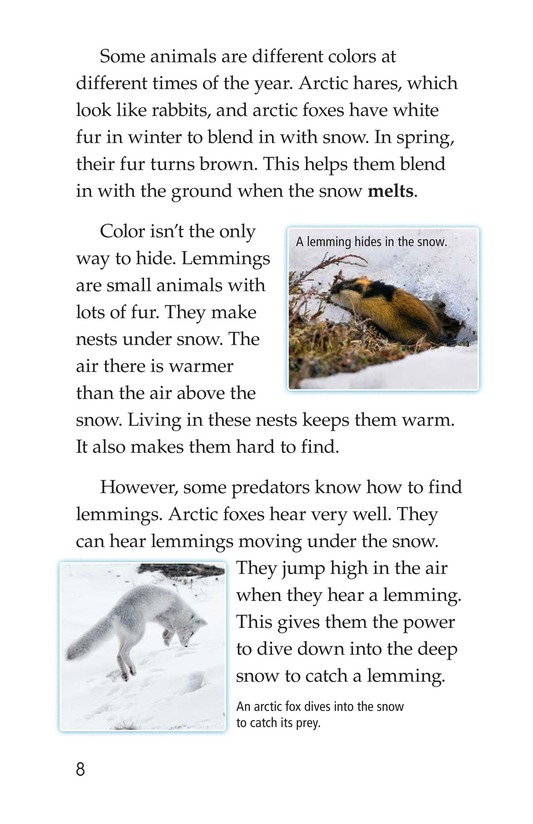 Book Preview For Predators and Prey Page 8
