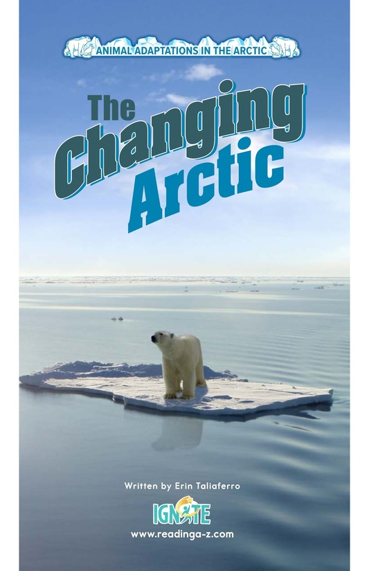 Book Preview For The Changing Arctic Page 0
