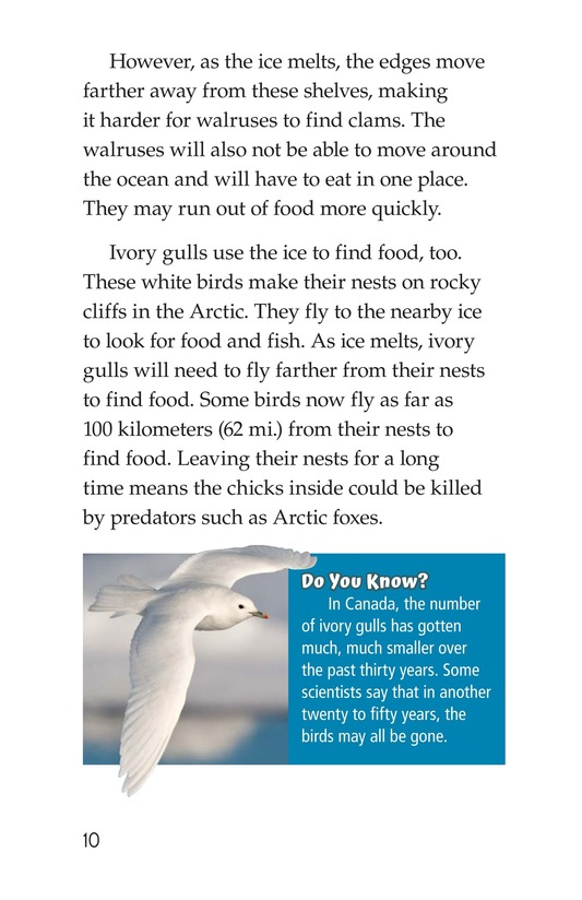Book Preview For The Changing Arctic Page 10