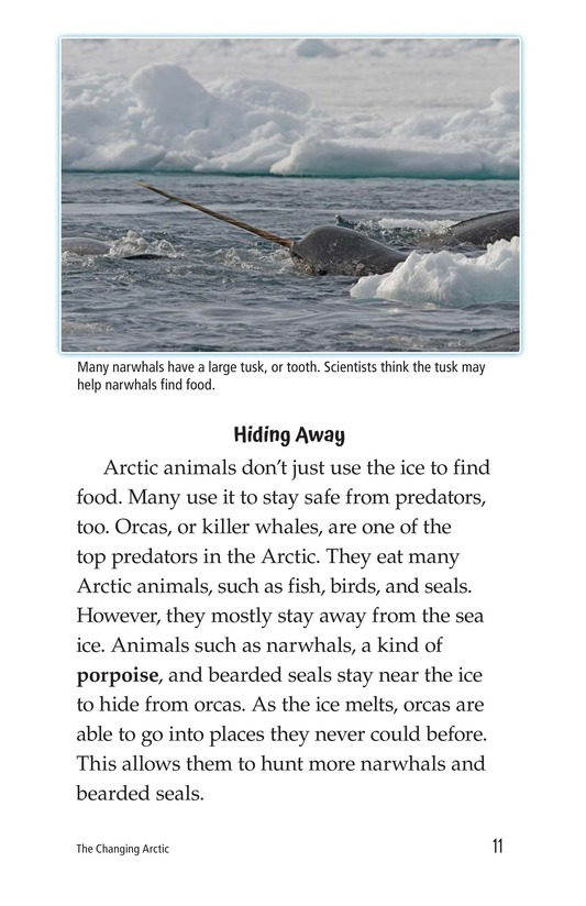 Book Preview For The Changing Arctic Page 11
