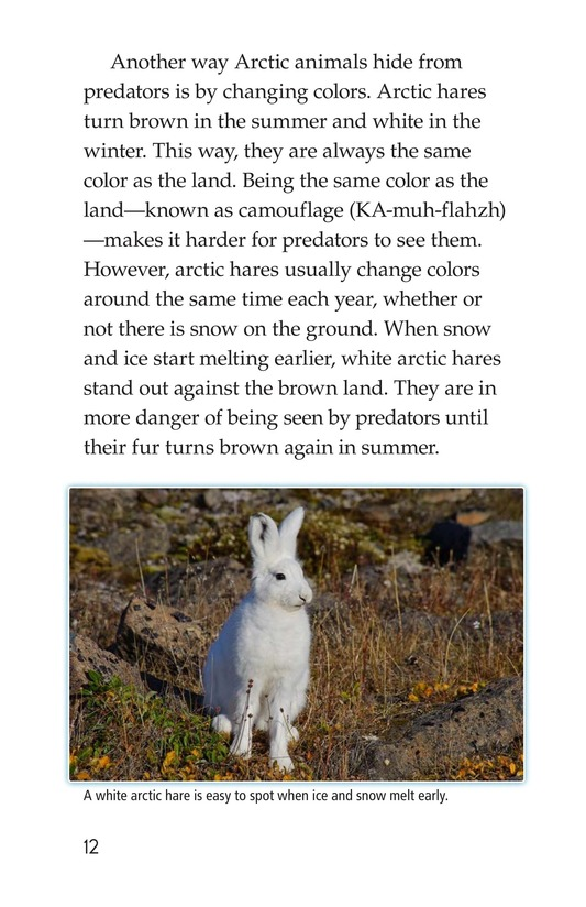 Book Preview For The Changing Arctic Page 12