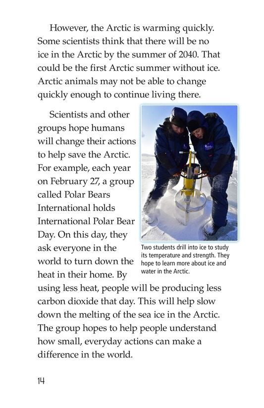 Book Preview For The Changing Arctic Page 14