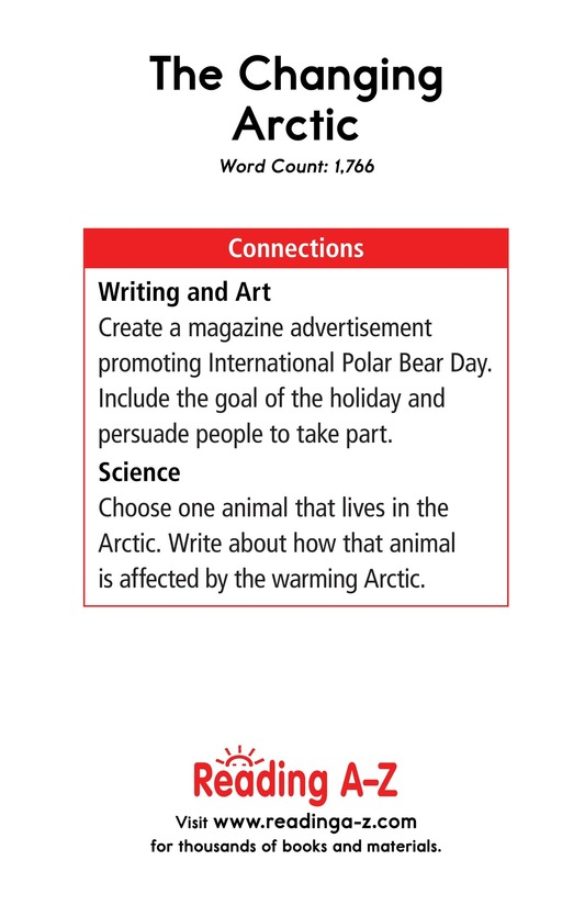 Book Preview For The Changing Arctic Page 17