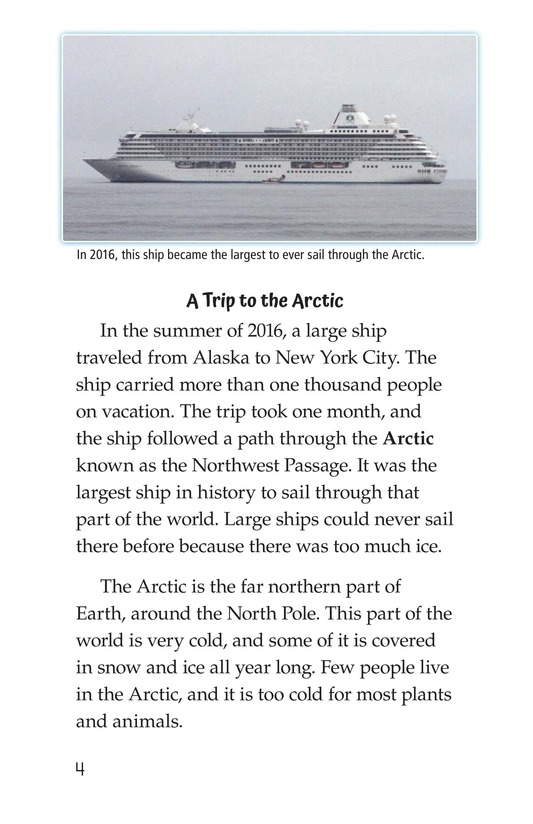 Book Preview For The Changing Arctic Page 4