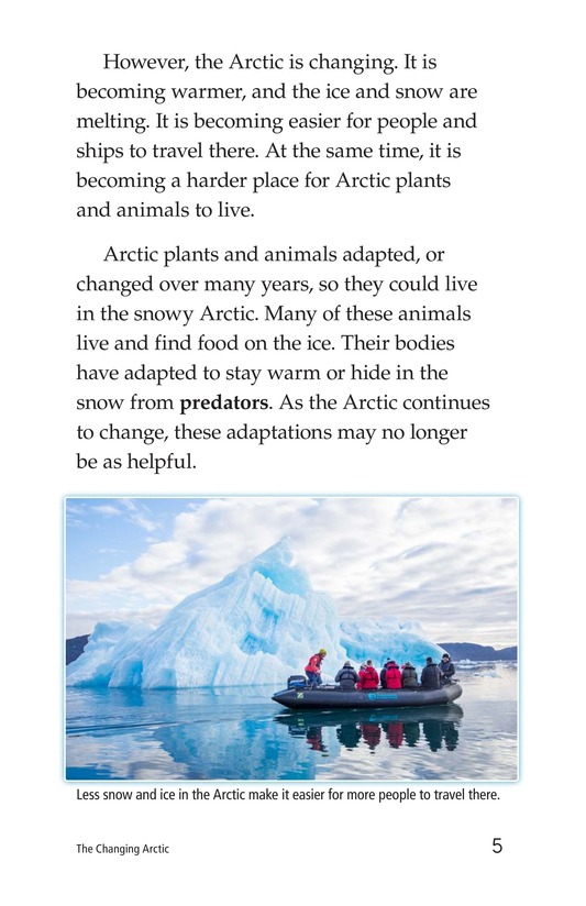 Book Preview For The Changing Arctic Page 5