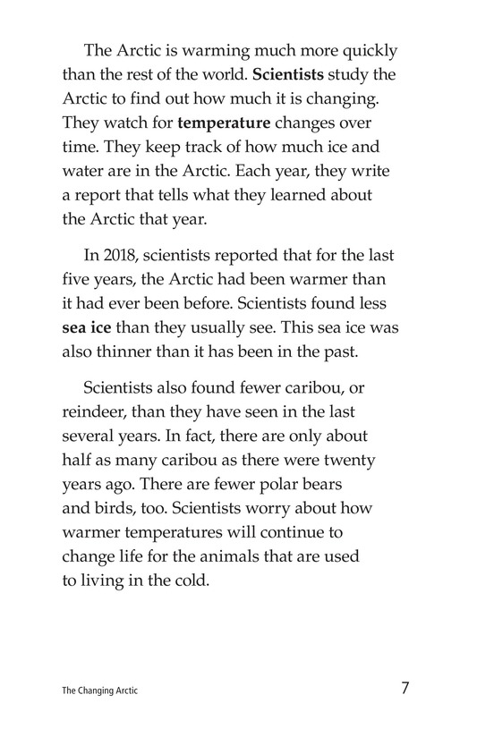Book Preview For The Changing Arctic Page 7