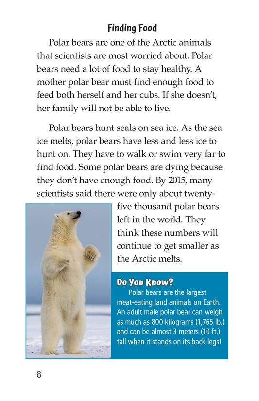Book Preview For The Changing Arctic Page 8