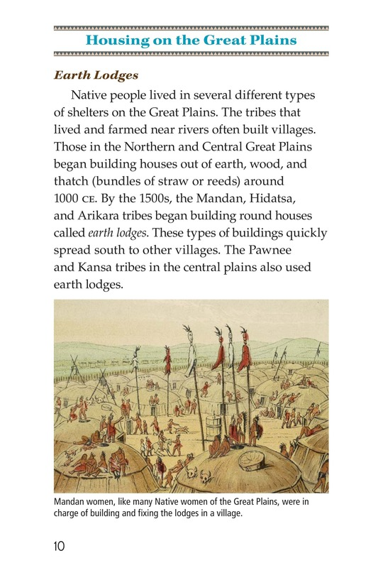 Book Preview For Life Before the Europeans Came Page 10