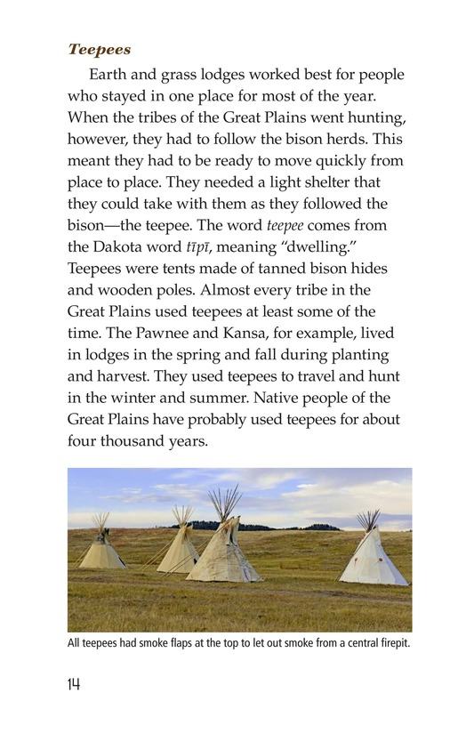Book Preview For Life Before the Europeans Came Page 14