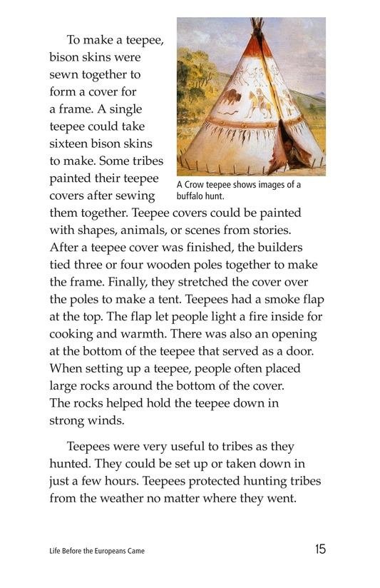 Book Preview For Life Before the Europeans Came Page 15