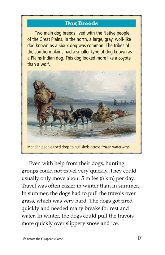 Book Preview For Life Before the Europeans Came Page 17