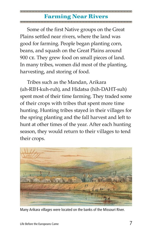 Book Preview For Life Before the Europeans Came Page 7