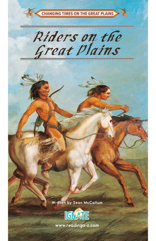Book Preview For Riders on the Great Plains Page 0