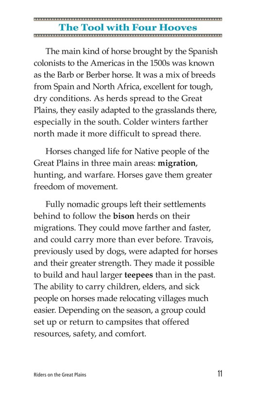 Book Preview For Riders on the Great Plains Page 11