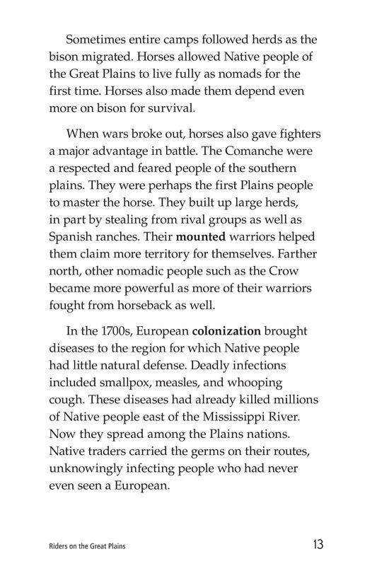 Book Preview For Riders on the Great Plains Page 13