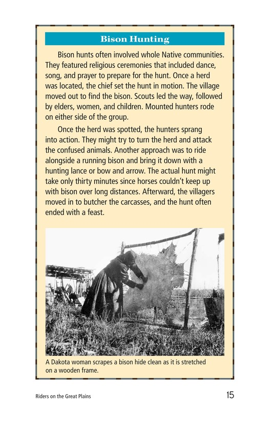 Book Preview For Riders on the Great Plains Page 15