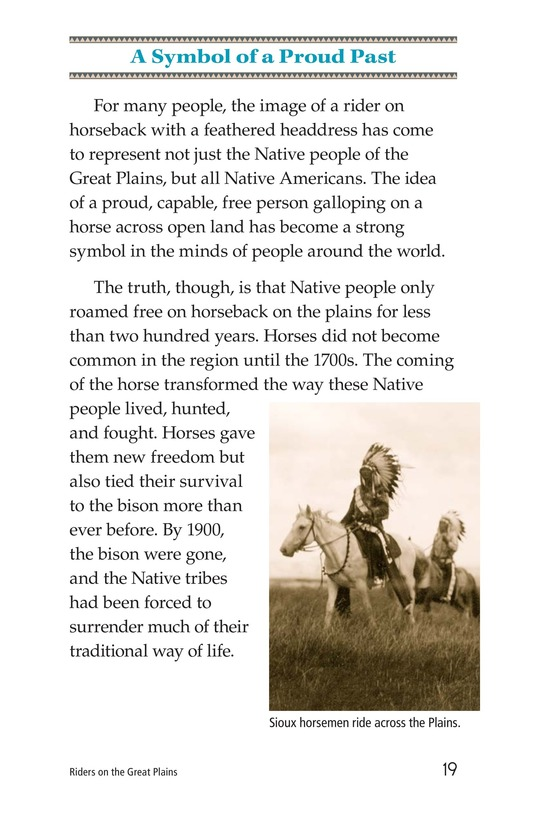 Book Preview For Riders on the Great Plains Page 19