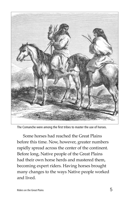 Book Preview For Riders on the Great Plains Page 5