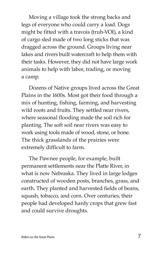 Book Preview For Riders on the Great Plains Page 7