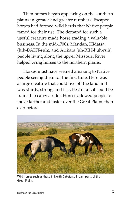 Book Preview For Riders on the Great Plains Page 9