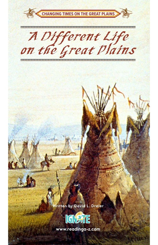 Book Preview For A Different Life on the Great Plains Page 0