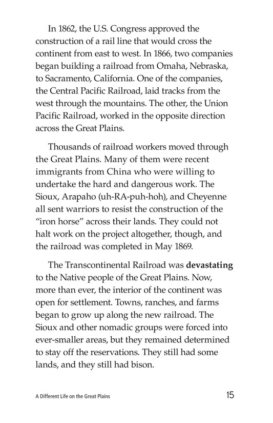 Book Preview For A Different Life on the Great Plains Page 15