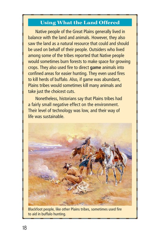Book Preview For A Different Life on the Great Plains Page 18