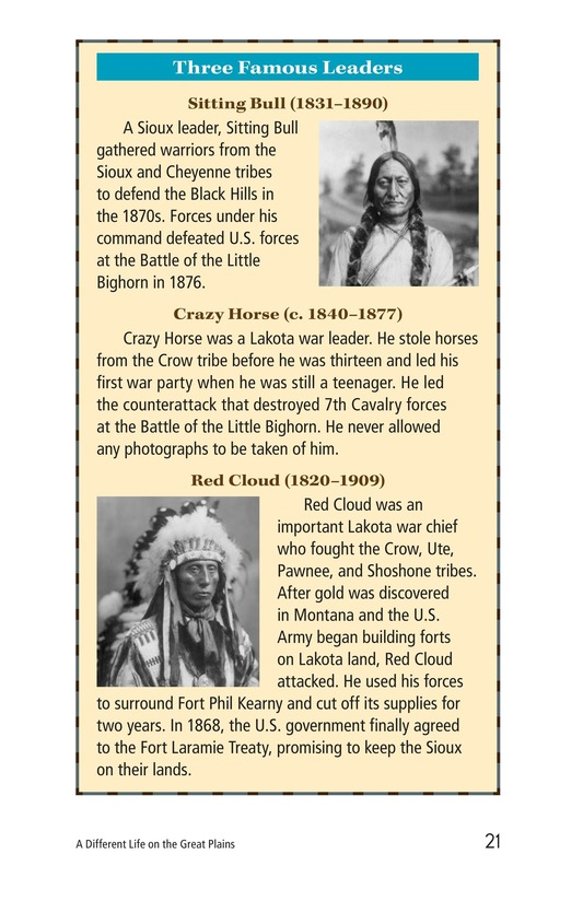 Book Preview For A Different Life on the Great Plains Page 21