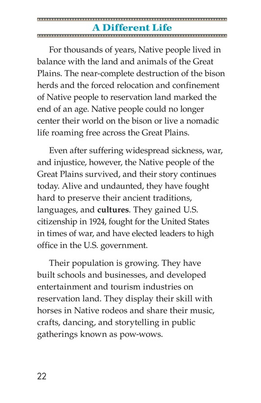 Book Preview For A Different Life on the Great Plains Page 22